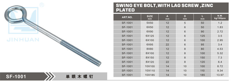 SF-1001 Eye Bolt