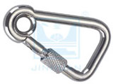 SF-2470S Oblique Angle snap hook with Eyelet and Screw