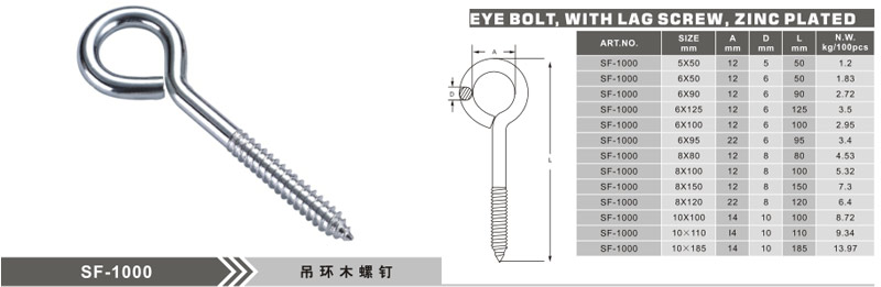 SF-1000 Eye Screw